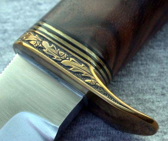 Гарды для рукояти ножа