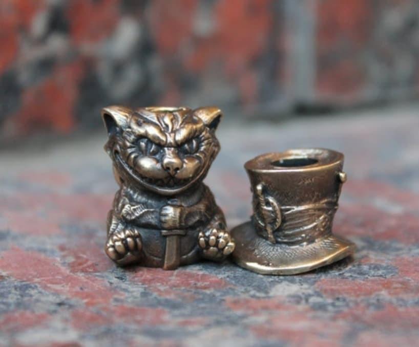 Бусина для темляка «Чеширский кот»