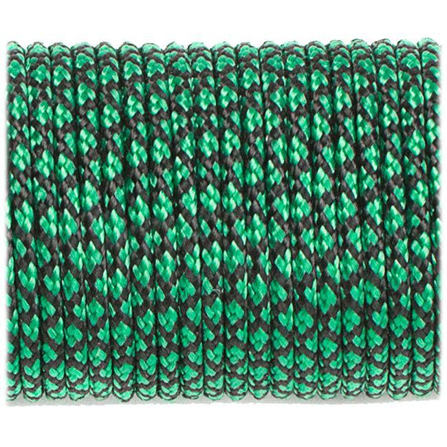 Minicord (2.2 mm), emerald green snake №20