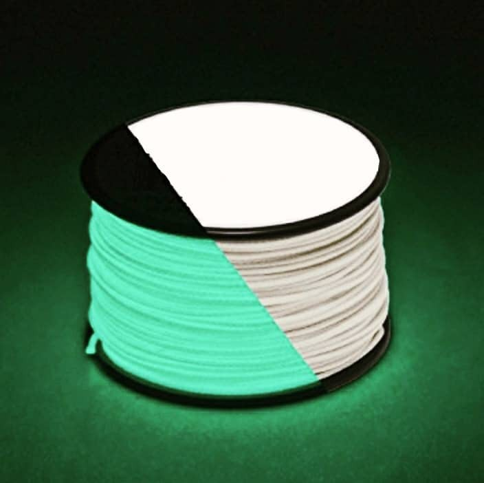 Microcord (1.4 mm), fluorescent (светящийся) №10