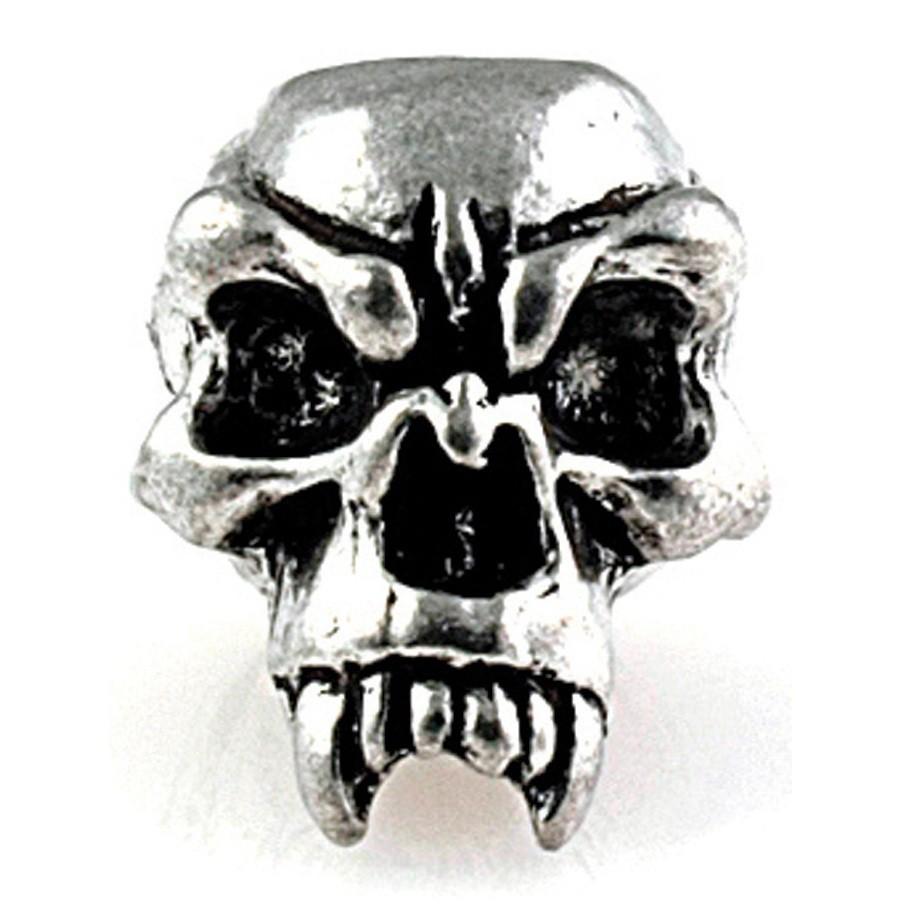 Металлический череп FANG для темляка из паракорда