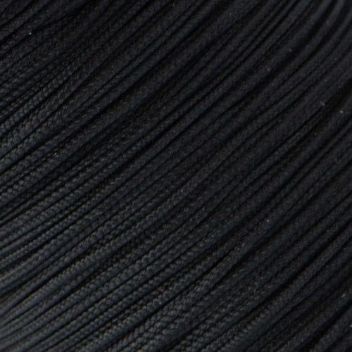 Microcord (1.4 mm), black №3