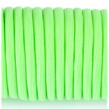 Paracord 550 fluorescent (светящийся) green №1