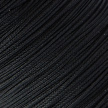Microcord (1.4 mm), black №3
