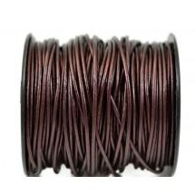 Кожаный шнур коричневый 2мм