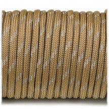 Paracord reflective, coyote brown №r3012